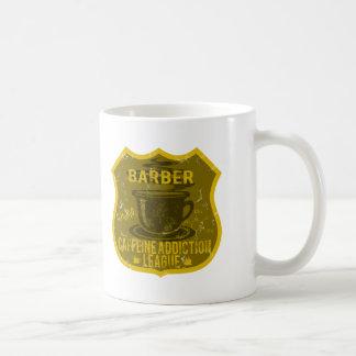 Barber Caffeine Addiction League Coffee Mug