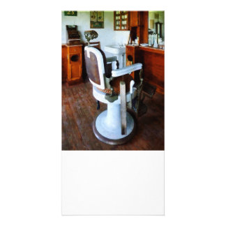 Barber Chair and Cash Register Photo Cards