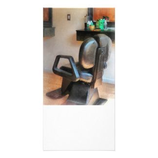 Barber Chair and Hair Supplies Photo Cards