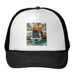 Barber Chair Front View Mesh Hats