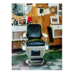 Barber Chair Front View Postcards
