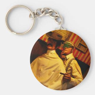 Barber Keychain