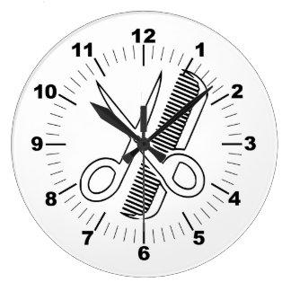 Barber Large Clock