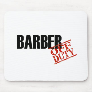 Barber Light Mouse Pad