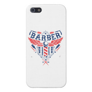 Barber logo IPhone 5 cover