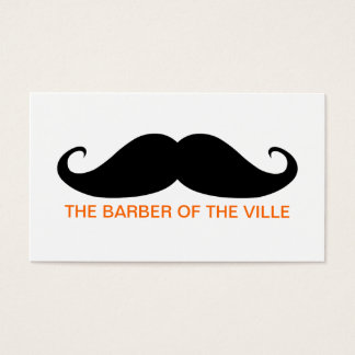 Barber of the Ville Business Card