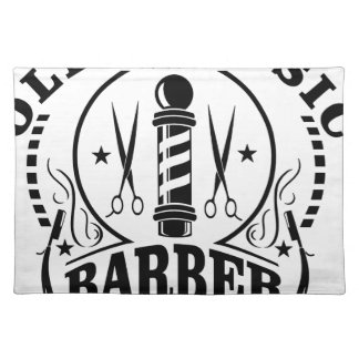 BARBER PLACEMAT