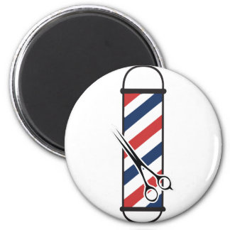 barber pole 2 inch round magnet