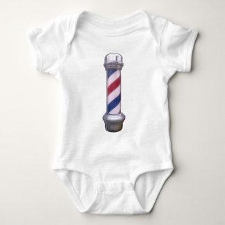 Barber Pole Baby Bodysuit
