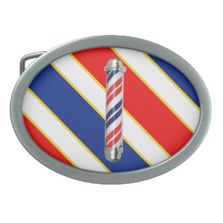 Barber Pole Belt Buckle