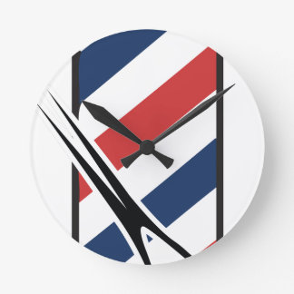 barber pole clocks