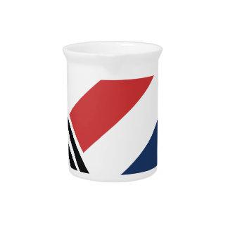 barber pole drink pitchers