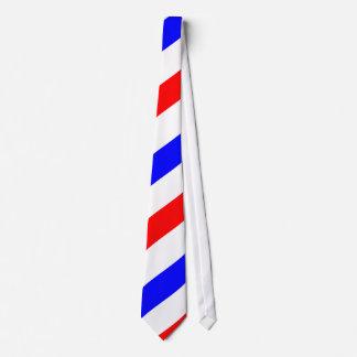 Barber Pole Pattern Tie