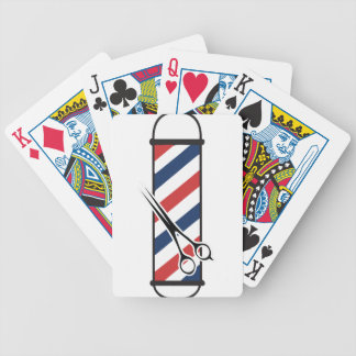 barber pole poker deck