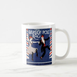 Barber Pole Rag Vintage Sheet Music Cover Coffee Mug