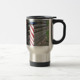 Barber Pole Travel Mug
