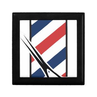 barber pole trinket boxes