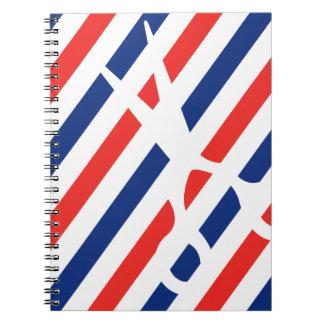 Barber Scissors Notebook