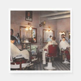 Barber - Senators-only barbershop 1937 Disposable Napkins