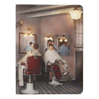 Barber - Senators-only barbershop 1937 Extra Large Moleskine Notebook