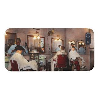 Barber - Senators-only barbershop 1937 iPhone 5/5S Cases