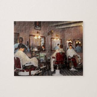 Barber - Senators-only barbershop 1937 Jigsaw Puzzle