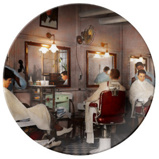 Barber - Senators-only barbershop 1937 Plate