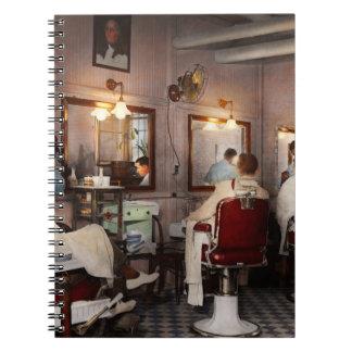 Barber - Senators-only barbershop 1937 Spiral Notebook