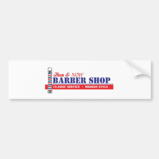 Barber Shop Bumper Sticker