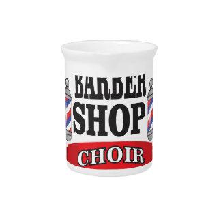 barber shop choir pitcher