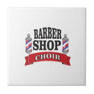 barber shop choir tile