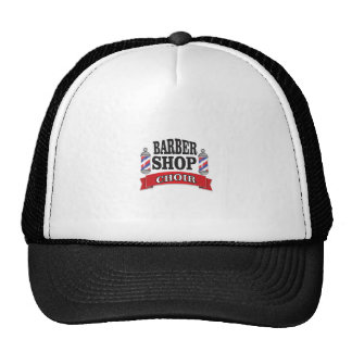 barber shop choir trucker hat