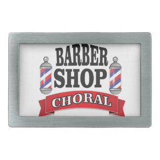 barber shop choral belt buckles