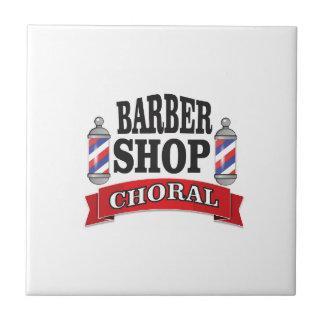 barber shop choral ceramic tile