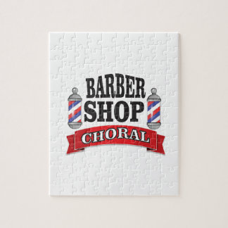 barber shop choral jigsaw puzzle