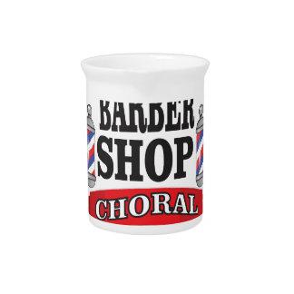 barber shop choral pitcher