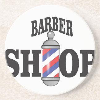 barber shop coasters