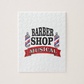 barber shop musical jigsaw puzzle