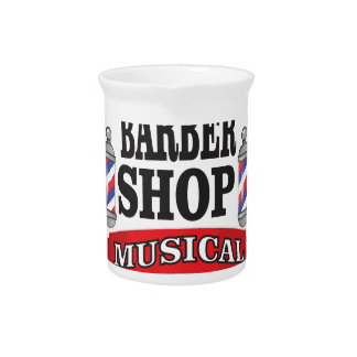 barber shop musical pitcher
