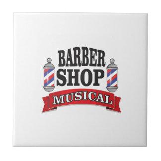 barber shop musical tile