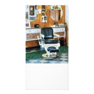 Barber Shop One Chair Photo Card