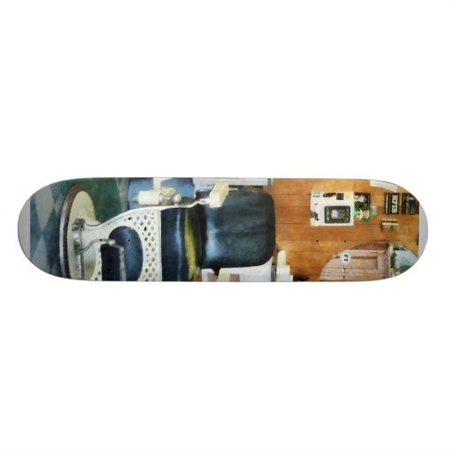 Barber Shop One Chair Skate Board Deck