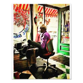 Barber Shop Photo Print