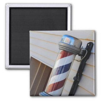 Barber Shop Pole Magnet