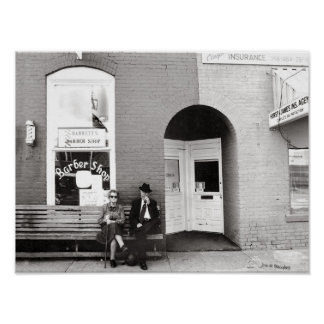 Barber Shop Watertown Tennessee Poster