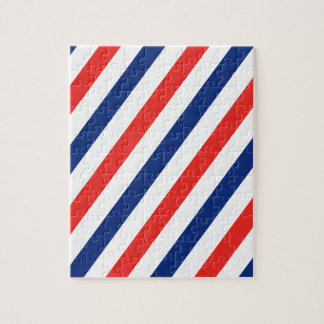 Barber Stripes Jigsaw Puzzle