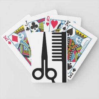 Barber Tools Bicycle Playing Cards