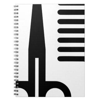 Barber Tools Spiral Notebook