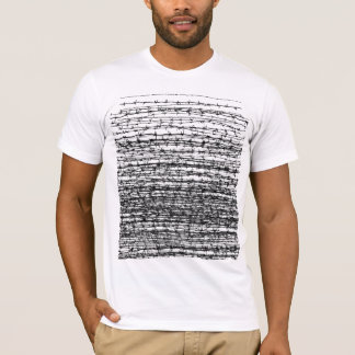 Barber wire fade out T-Shirt