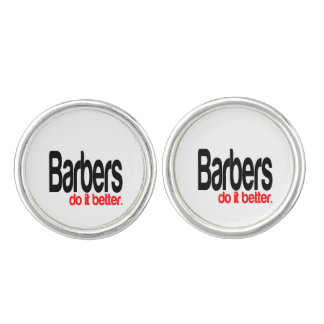 Barbers Do It Better Cuff Links